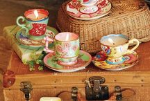 Time for tea / Vintage Tea Party Ideas