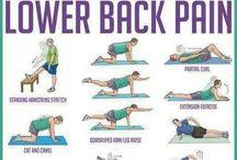 Stretching & Back exercises