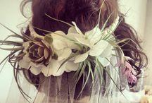 Brides, Bridesmaids and Flowergirls / Wedding