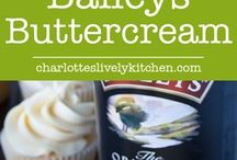 Baileys / Food and drink recipe ideas with one thing in common...Baileys!