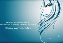 International Women's Day / A graceful woman gets strength from troubles, smiles when distressed and grows even stronger with prayers and hope.  Wishing you a very happy women's day.  http://www.heritagetoursorissa.com/