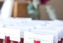 Wedding Reception Ideas / Cool ideas, tips, decor, for your wedding reception & guests to remember! / by Kristi Schneider
