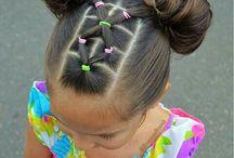 Peinados con ligas