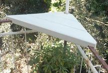 corner table for balcony