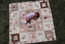 Baby and Kid Quilts / Inspiration for quilt patterns for babies and kids... / by Sherri Osborn {Family Crafts}
