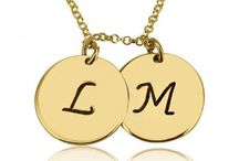 10k Solid Gold / 10k Solid Gold Personalized Jewelry