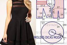 Modelos vestidos