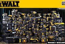 ELEKTRONARZĘDZIA DEWALT / Szeroka gama elektronarzędzi marki DeWALT: wiertarki, wiertarko-wkrętarki, gwoździarki, szlifierki kątowe, młotowiertarki, skrzynie narzędziowe ToughSystem, poziomice laserowe, wózki transportowe...