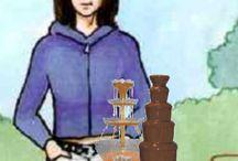 Fontanny czekoladowe i koktajlowe / Wynajem fontann na wesela, komunie, chrzciny, studniówki i inne imprezy.