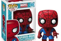 Spider-Man / Spider-Man appears in comic books published by Marvel Comics and was created by Stan Lee and Steve Ditko. Peter Parker is an orphan who was raised by his Aunt May and Uncle Ben, and after becoming Spider-Man, had to learn to deal with both the challenges of adolescence and those of a crimefighter.