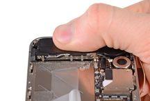 Sustitución del altavoz del iPhone 4S / Para sustituir el altavoz del iPhone 4s, siga los pasos siguientes.