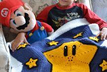 Tricot couverture bébé