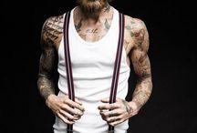 Street fashion tattoo / Fashion and body fashion