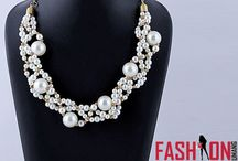 Jewelry / Latest designer fashion jewelry, Online pearl necklace, pearl earrings
