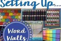 Word Walls / Explore vocabulary, concepts and ideas through classroom displays and activities. Follow Galarious Goods for more teaching ideas and strategies