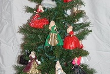 Holiday barbie ornaments / by MaryAnn Urbanik