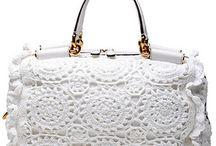 Crocheted bags, purse, boxes, ... / Crochet