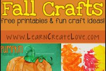 Fall Fun / Fall themed arts and craft ideas, projects, and more.
