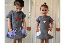 платье детское крючком