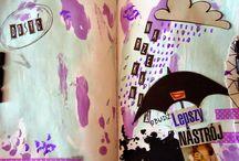 My Art-journaling / Moje prace art-journaling