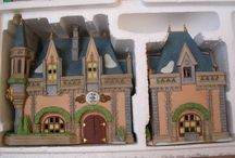 Department 56 - Disney Parks Village / Available for less than 2 years, this series reproduced buildings at Disney theme parks.