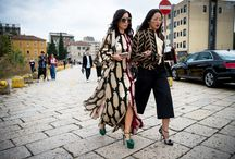 CHICEST SHOWGOERS - FASHION STREET AT FASHION WEEKS