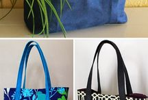 Tote bag/ pouch inspiration / Bags!