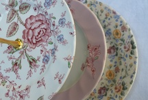 Pretty China / This is a just some of the beautiful china we use for our vintage tea parties