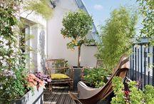 Terrasse & balcons