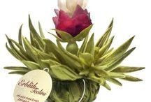 Silvertea virágzó tea / A virágzó tea egy különleges élmény-tea, ami finom is és szép is.