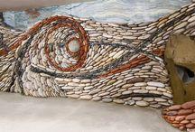 Piedras-empedrados / Arte con piedras