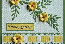 Cards for Spring / by Jana Johnson