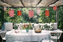 Home sweet home: outdoor dining/deck
