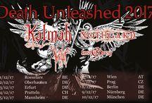 DEATH UNLEASHED TOUR 2017