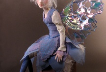 Faeries and art dolls / Fabulous sculpted Fae and art dolls / by Kaye Schlenert