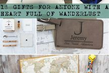 Travel Gifts, Craft & Decor Ideas / Maps, books, globes...daily inspiration for our travel passions