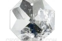 ROCK CRYSTAL / Rock Crystal can be found in many fine chandeliers which feature a unique look of beauty, balance, clarity and energy. Much like a snowflake, Rock Crystal can brag that no two pieces are ever the same.