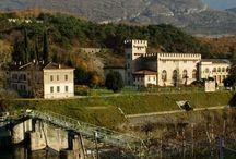 la Centrale idroelettrica di Fies - oggi centro per l'arte contemporanea / Una delle più importanti testimonianze dell'archeologia industriale in Trentino - Alto Adige