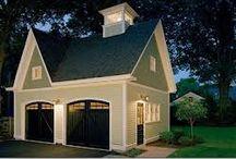 Detached Garage Ideas for Seth  / by Heather Carroll