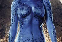 Mystique / It's Raven Darkholme, preferably known as Mystique, my favourite shapeshifter