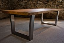 Dining Tables / Beautiful custom made centre-piece dining tables designed and made by Tarzan Tables.