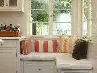 Corner window seats