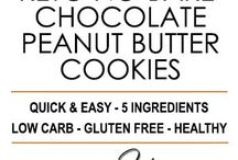 Low carb desserts chocolate peanut butter cookies