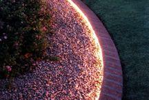 Magic garden and patio