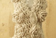 Crochet & knit scarfs/hats and gloves adults