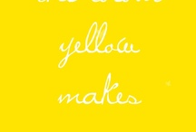 All Things Sunny & Yellow