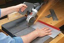Слесарка / инструменты и приспособления для работы с металлом