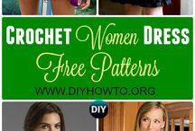 ladies crochet dresses