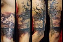 tatoo forest