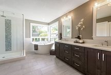 Bathrooms | Renaissance Homes / Create a peaceful space to start and end your day.
